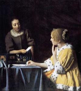 Vermeer_lettre