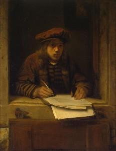 van_Hoogstraten_autoportrait