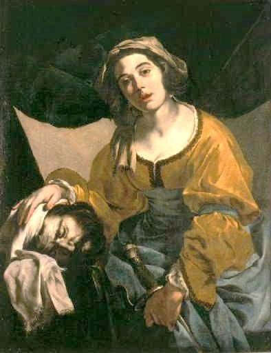Judith et la tête d'Holopherne, par Canavillo